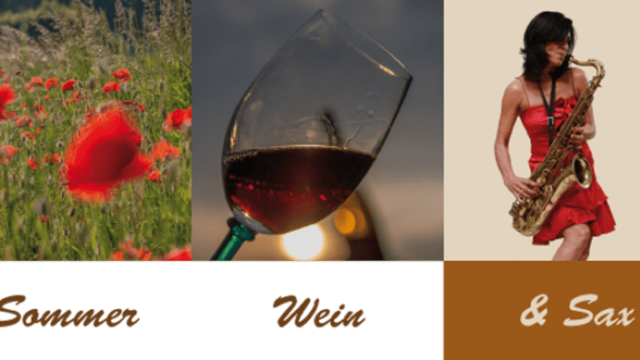 Sommer-Wein und Sax